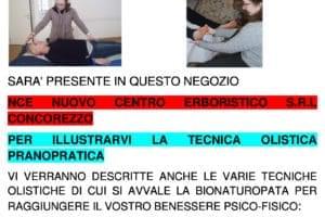 INVITO PRESSO ERBORISTERIA NCE TEMA PRANOPRATICA