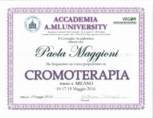 Cromoterapia - Paola Maggioni