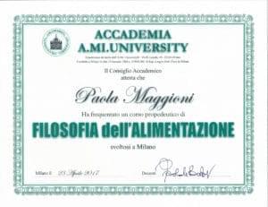 Filosofia dell'alimentazione - Paola Maggioni