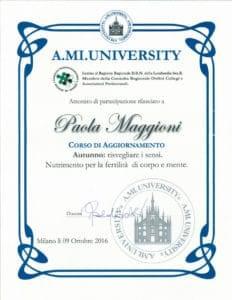 Corso di aggiornamento Autunno: risvegliare i sensi - Paola Maggioni