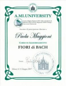 Corso di aggiornamento FIORI DI BACH- 11 giugno 2017 - Paola Maggioni